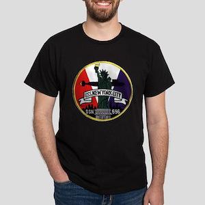 SSN 696 New York City Dark T-Shirt