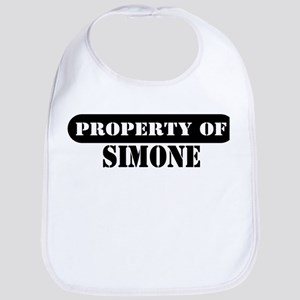 Property of Simone Bib