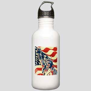 Happy Independence Day Water Bottle