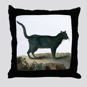 Chartreux Cat Throw Pillow