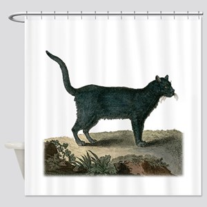 Chartreux Cat Shower Curtain