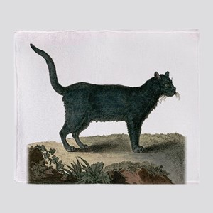 Chartreux Cat Throw Blanket