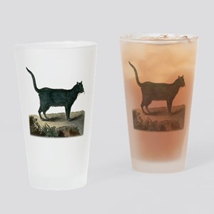Chartreux Cat Drinking Glass