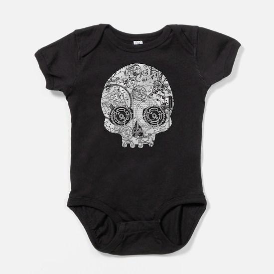 Clockwork Skull Baby Bodysuit