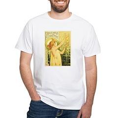 Vintage Absinthe Robette White T-Shirt