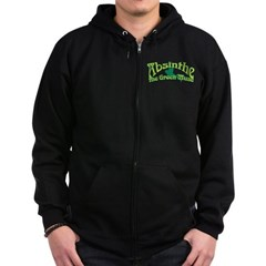 Absinthe The Green Muse Zip Hoodie (dark)