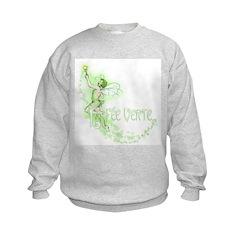 Absinthe Fairy Flying Sweatshirt