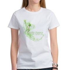 Absinthe Fairy Flying Women's T-Shirt
