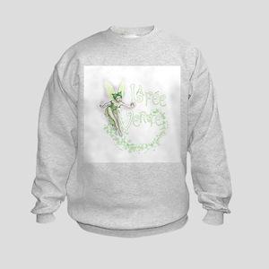 Absinthe Fairy Flitting Kids Sweatshirt
