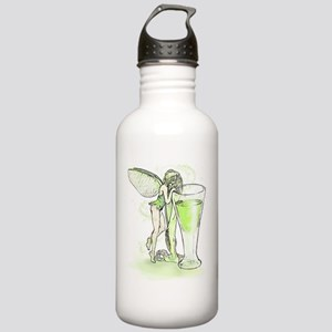Absinthe Fairy Toying With Glass Stainless Water B
