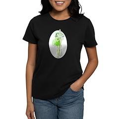 Absinthe Fairy With Spoon Women's Dark T-Shirt