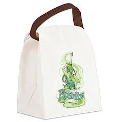 Absinthe Sugar Cube Fairy Canvas Lunch Bag