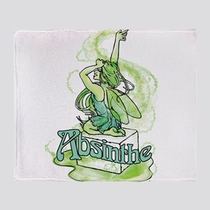 Absinthe Sugar Cube Fairy Throw Blanket