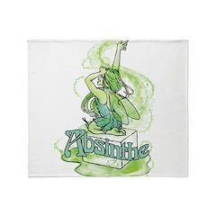 Absinthe Sugar Cube Fairy Throw Blanket