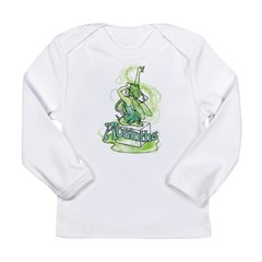 Absinthe Sugar Cube Fairy Long Sleeve Infant T-Shi