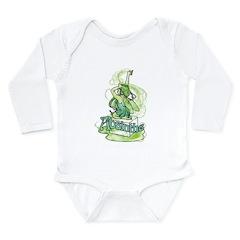 Absinthe Sugar Cube Fairy Long Sleeve Infant Bodys