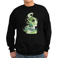 Absinthe Sugar Cube Fairy Sweatshirt (dark)