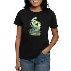 Absinthe Sugar Cube Fairy Women's Dark T-Shirt