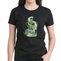 Absinthe Sugar Cube Fairy Women's Dark T-Shirt