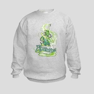 Absinthe Sugar Cube Fairy Kids Sweatshirt