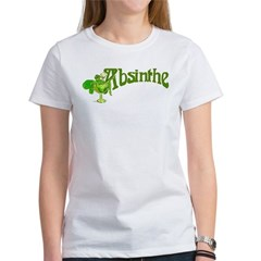 Fairy In Glass Absinthe Women's T-Shirt
