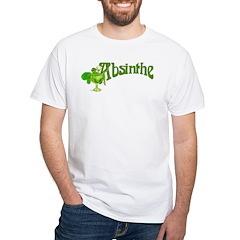 Fairy In Glass Absinthe White T-Shirt