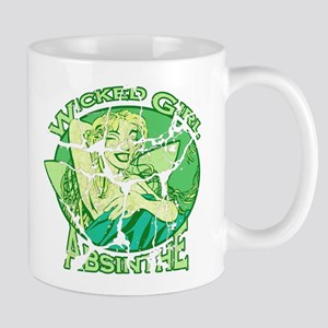 Vintage Wicked Girl Absinthe Mug
