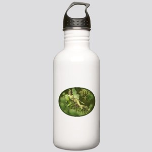 Absinthe Fairy Collage Stainless Water Bottle 1.0L