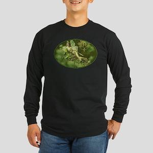 Absinthe Fairy Collage Long Sleeve Dark T-Shirt