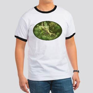 Absinthe Fairy Collage Ringer T