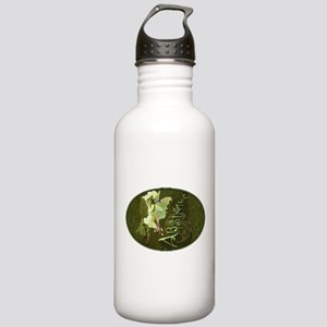 Absinthe Collage Stainless Water Bottle 1.0L