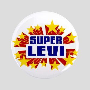 """Levi the Super Hero 3.5"""" Button"""
