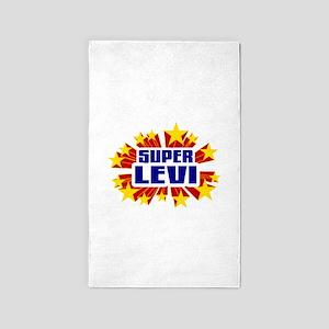 Levi the Super Hero 3'x5' Area Rug