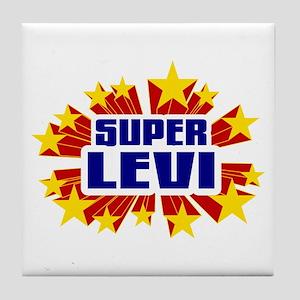 Levi the Super Hero Tile Coaster