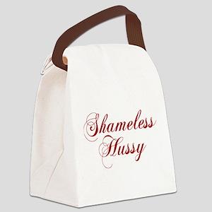 Shameless Hussy Canvas Lunch Bag