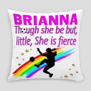 SOCCER GIRL Everyday Pillow