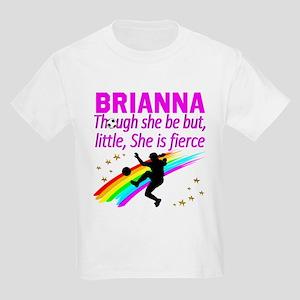 SOCCER GIRL Kids Light T-Shirt
