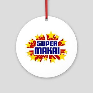 Makai the Super Hero Ornament (Round)