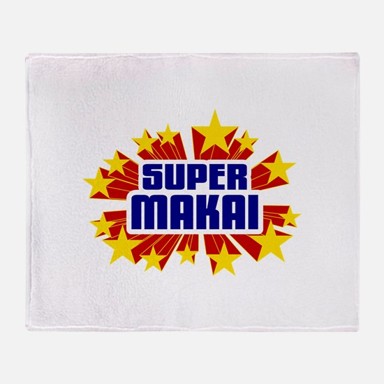 Makai the Super Hero Throw Blanket