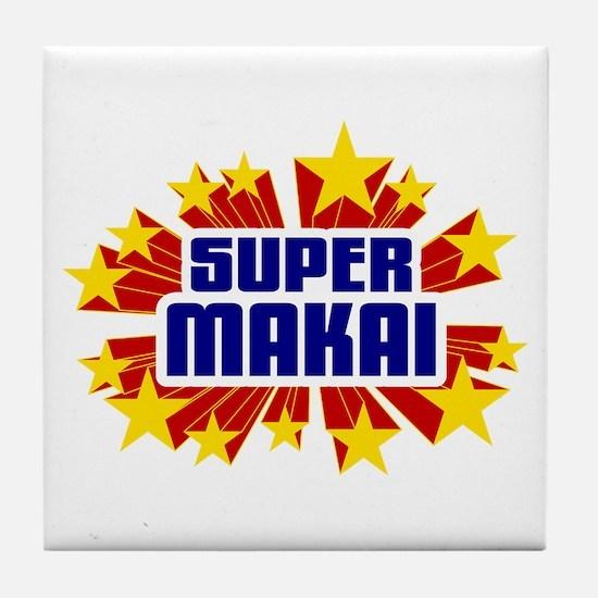Makai the Super Hero Tile Coaster