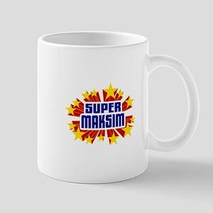 Maksim the Super Hero Mug