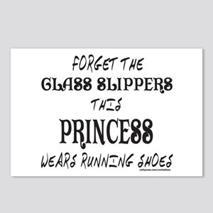 THIS PRINCESS WEARS RUNNING SHOES Postcards (Packa