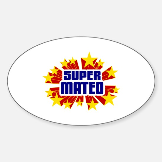 Mateo the Super Hero Decal