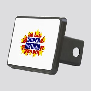 Mathew the Super Hero Hitch Cover