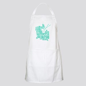 Knitting Abbreviation Cloud Apron