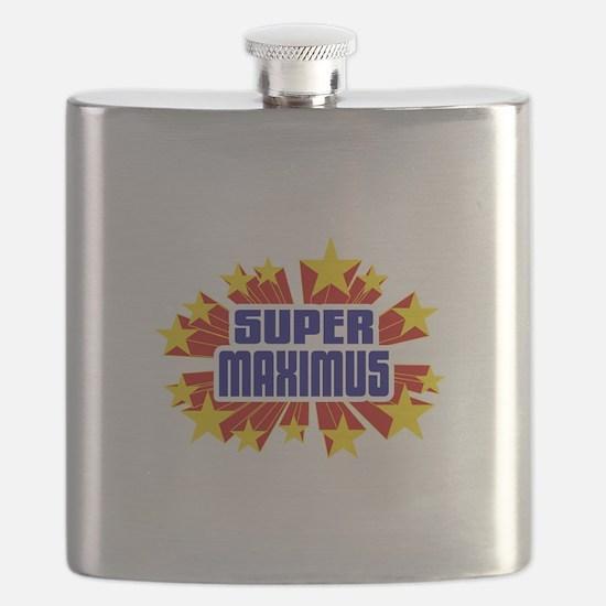 Maximus the Super Hero Flask