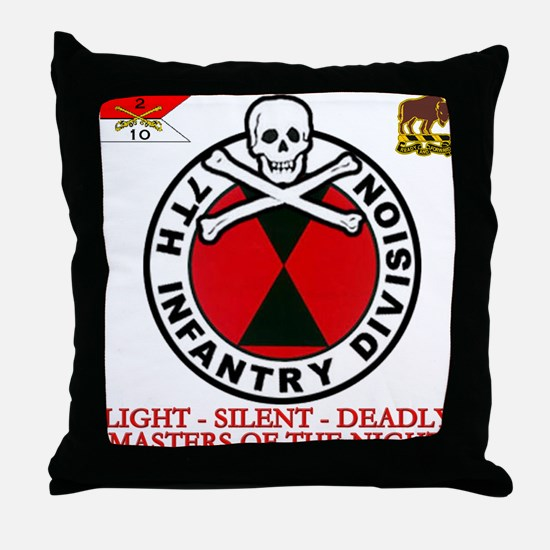 7th.png Throw Pillow