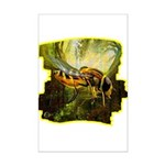 bee insect Poster Print (Mini)