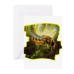 bee insect Greeting Cards (Pk of 10)