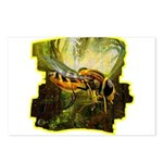 bee insect Postcards (Package of 8)